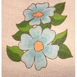 Gobelin 15x15 cm WV20 Virág
