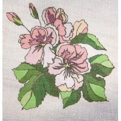 Gobelin 15x15 cm WV23 Virág