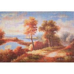 Gobelin 16x11 cm T029 T Folyópart