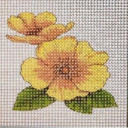 Gobelin 10x10 cm V020 Virág