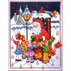 Adventi kalendárium 03504 35x45 cm