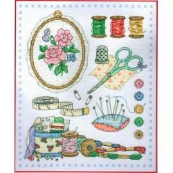 Keresztszemes 24x20 cm ACS29 Stitch By Stitch