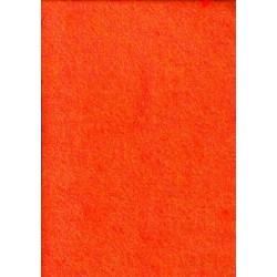 Filc 2-2,5 mm 20x30 cm neon narancssárga