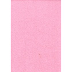 Filc 2-2,5 mm 20x30 cm babarózsaszín
