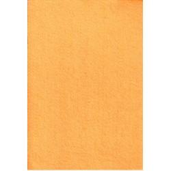 Filc 2-2,5 mm 20x30 cm narancssárga