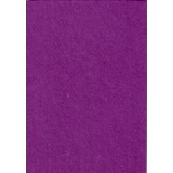 Filc 2-2,5 mm 20x30 cm püspöklila