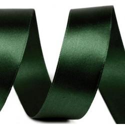 Szatén szalag 3 cm sötétzöld