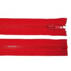 Cipzár 80 cm bontható piros