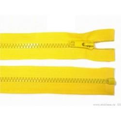 Cipzár 80 cm bontható sárga