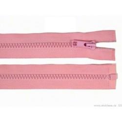 Cipzár 100 cm bontható rózsaszín