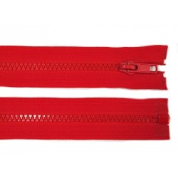 Cipzár 90 cm bontható piros