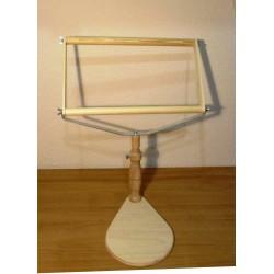 Ráülős varróállvány 25x40 cm kerettel