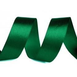 Szatén szalag 3 cm zöld