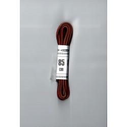 Cipőfűző gömbölyű 85 cm barna