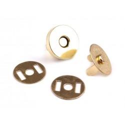 Mágneszár 18 mm aranyszinu