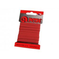 Gumi 0,7 cm bordó 5m/kártya