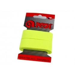 Gumi 2 cm neonsárga 1,5m/kártya