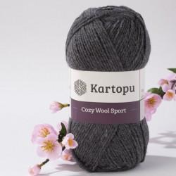 Cozy Wool Sport sötétszürke 100 g