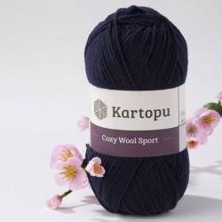 Cozy Wool Sport mélykék 100 g
