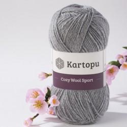 Cozy Wool Sport világosszürke 100 g