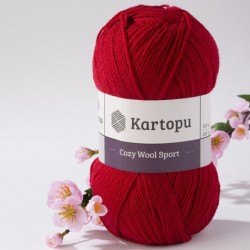 Cozy Wool Sport piros 100 g