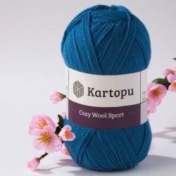 Cozy Wool Sport sötéttürkiz 100 g