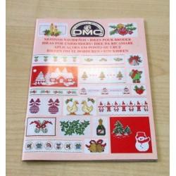 Keresztszemes mintaív Karácsonyi minták