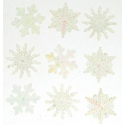 Dress It Up gombszett Crystal Snowflakes