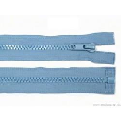 Cipzár 70 cm bontható világoskék GT10