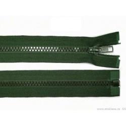 Cipzár 60 cm bontható sötétzöld GT10