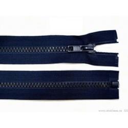 Cipzár 60 cm bontható mélykék GT10