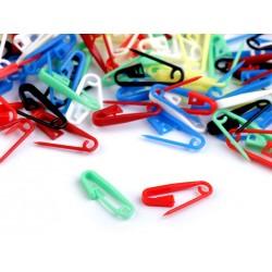 Szemjelölő műanyag biztostű 10 db