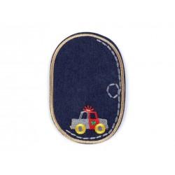 Vasalható farmerfolt drapp rendőrautós