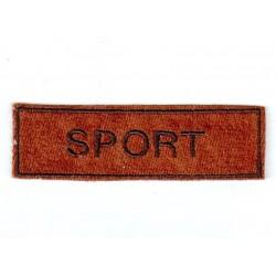 Varrható cimke Sport