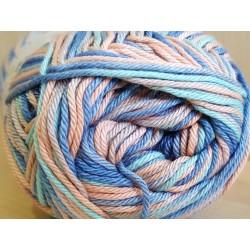 Cotton Mate Color kék/narancssárga mix 50 g