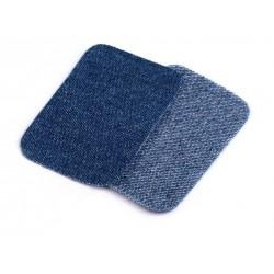 Vasalható farmerfolt kék 7,6x4,9 cm