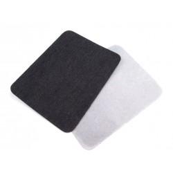 Vasalható farmerfolt fekete 9,5x12,5 cm