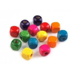 Fagyöngy 0,8 cm kocka színkeverék 10 g