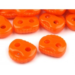 Végszorító 2x2 cm narancssárga