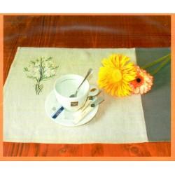 Hímezhető tányéralátét fonallal 14-077 2 db