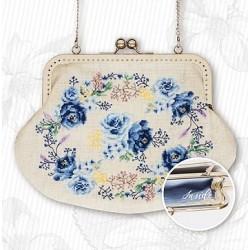 Hímezhető táska láncos táskanyitóval BAG022
