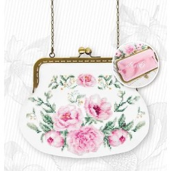 Hímezhető táska láncos táskanyitóval BAG025