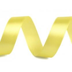 Szatén szalag 2 cm sárga