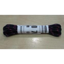 Cipőfűző gömbölyű 70 cm gyerekcipőbe sötétkék/pink