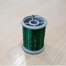Gyöngyfűző drót, zöld