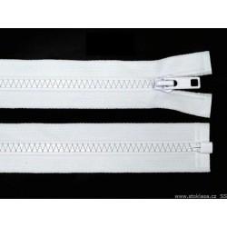 Cipzár 50 cm kisszemű bontható fehér
