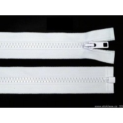 Cipzár 40 cm bontható fehér