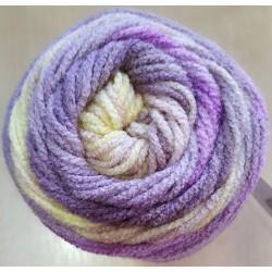 Burcum Batik lila/mályva/krém 100 g