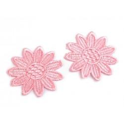 Varrható csipkevirág 5 cm rózsaszín