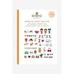 Keresztszemes mintaív Mini motívumok DMC